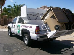 Our truck-mounted Eliminator™ cleaning unit comes to you!